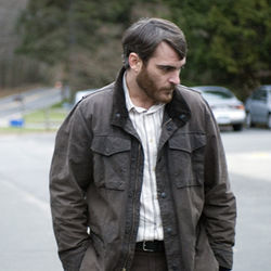 The actors (here, Joaquin Phoenix) soldier through Reservation Road as best they can.
