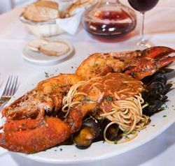 Antica does a terrific version of lobster fra diavolo.