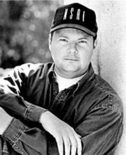 Christopher Cross, somewhere between the moon, New York City and the outer reaches of the solar system.