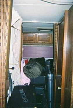 Gear was packed into every available space on the 