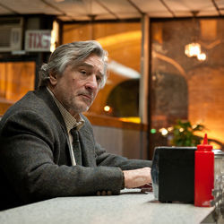 Robert De Niro stars as Jonathan Flynn, bigoted ex-con prodigal father.