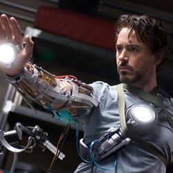 Robert Downey Jr. plays the unlikely hero.