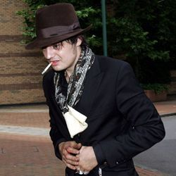 Pete Doherty doesn't sweat surviving another year.