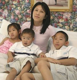 Loan-Anh Kao was pregnant with her third child when a Metro bus killed her husband, Jeffrey.