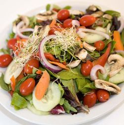 Sandy&#039;s offers a staggering array of salad toppings.