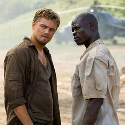 Blood Diamond (with Leonardo DiCaprio and Djimon Hounsou) has an oppressively cornball script.