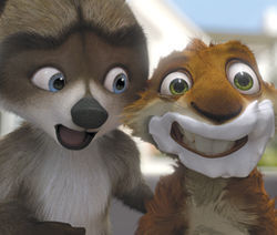 Over the Hedge is really just Madagascar in the suburbs.
