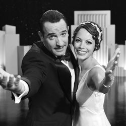 Nimble performers, elegantly turned out: Jean Dujardin and Bérénice Bejo.