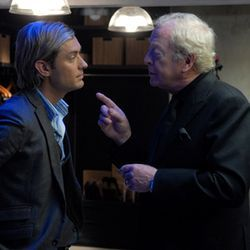 Sleuth (with Jude Law and Michael Caine) is handsomely appointed and utterly pointless.