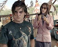 Gay prostitute Toby (Kevin Zegers) and his dad/mom,  Bree (Felicity Huffman), take a revelatory road trip.