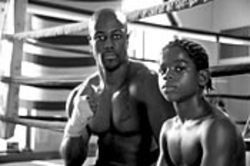 The movie tries to tell 24 stories in 86 minutes -- pretty much all you'll learn about Michael Bennett (left) is that he's an ex-convict-turned-boxer.