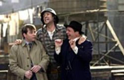 Will Ferrell (center, with Matthew Broderick and 
