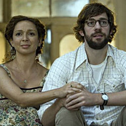 The characters in Away We Go (played by Maya Rudolph and John Krasinski) never shut up.