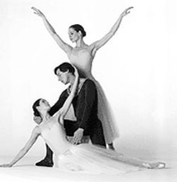 George Balanchine's Serenade, one of the pieces to be performed by Houston Ballet.