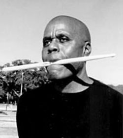 Jazzman Bubbha Thomas puts his  music where his mouth is.