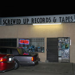 ...Screwed Up Records & Tapes is a local rap landmark and monument to the late DJ Screw.