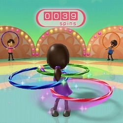 The latest in cutting-edge exercise is...a @#$&% hula hoop?!