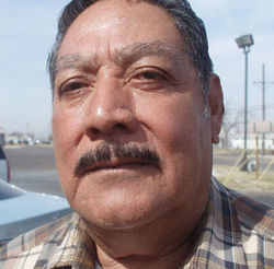 Jose Serrato is one of the plaintiffs in a lawsuit alleging that Swift fired injured employees and replaced them with illegal Guatemalan workers.