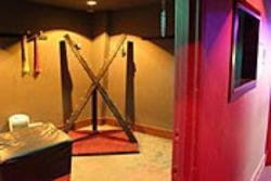 Houston's newest sex club features a St. Andrew's  cross, a swing and a spanking bench.