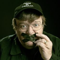 Michael Moore refused to cooperate with filmmakers in a documentary about him.