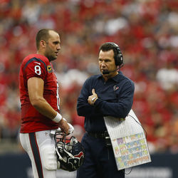 Watching Schaub and Kubiak flame out in the second round of the playoffs won't be good enough for most Houstonians this season.