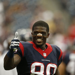 Andre  Johnson. The greatest element in franchise history,  underrated flammability  (ask Cortland Finnegan).