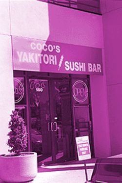No photos, please: The folks at Coco&#039;s Yakitori are long on personality but short on PR skills. They refused to have their pictures taken.