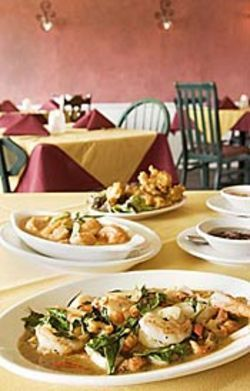 Merlion Restaurant has several spectacular dishes --  thanks to its ready access to seafood.