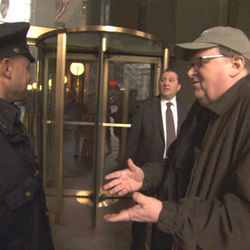 Michael Moore is a skilled court jester.