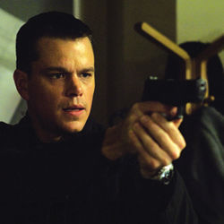 Matt Damon is amnesiac superspy Jason Bourne.