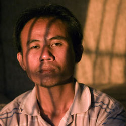 Burmese soldiers tried to arrest Phe Bu Reh when he was discovered sending food to starving rebels.