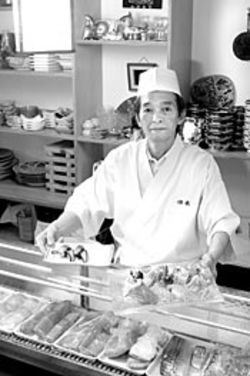 Many sushi chefs consider themselves too cool to converse with customers, but chef Toda delights in broadening raw-fish horizons.