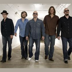Powerful Stuff: Kim Wilson's (center) latest batch of ­Fabulous Thunderbirds.