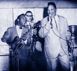"Let it shine on me: Bobby ""Blue"" Bland in his early‑'60s heyday with guitarist Wayne Bennett."