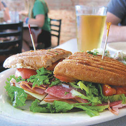 The Italian hoagie at Paulie's won't make you feel like a blimp.