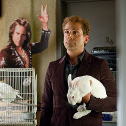 Steve Carell plays Burt Wonderstone as all jackass, cruel and dumb.
