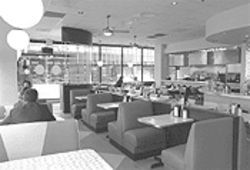 Century Diner: Charmingly retro-chic? Or just an artificial, synthetic imitation of real New York diners?