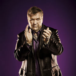 "A tequila-soaked poker game was the genesis of Meat Loaf's new album, as was a mysterious demo for ""Peace on Earth"" he found on his couch."