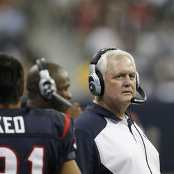 Behind Wade Phillips's seemingly blank stare is a delicate genius.