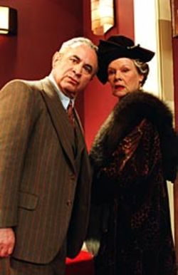Dame Judi (with Bob Hoskins) is excellent at 