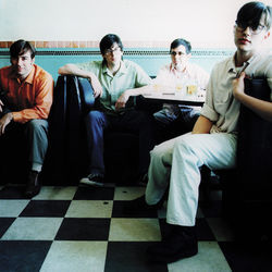 "The Old 97's in 1997, their ""first step on a long road,"" says singer Rhett Miller (right)."