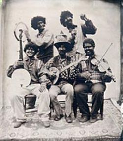 Back to the repulsive 1840s: The Allendale Melodians.