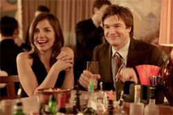 My sister the whore: Justine and Jason Bateman hook up in season three.