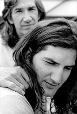 The two Van Zandts formed a friendship in Townes's final years.
