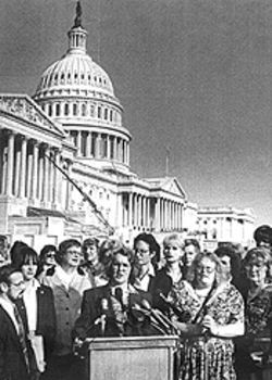 Ms. Frye goes to Washington: In '95, Phyllis rallied transgender lobbyists.