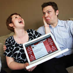 Dallas-area couple Matt Smith and Traci Koller met through Twitter by chance last fall. Smith promises not to propose to Koller via the site if they decide to get hitched.
