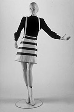 Andre Courreges leather ensemble (1967)