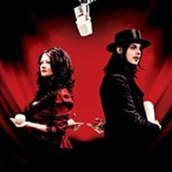 "White Stripes: ""Get behind me, Meg!"" ""No, you get  behind me!"""
