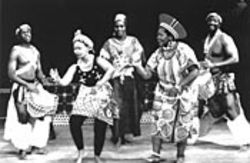 """Island Nite"" brings traditional Pan-African music and dance to Miller Outdoor Theatre. See Friday."