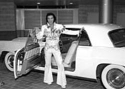 Dress as Elvis and save a whopping 50 cents on  admission to Sam Houston Race Park's celebration of  the King's 69th birthday. See Saturday.